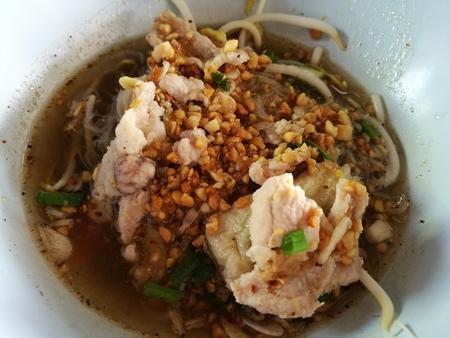 noodle soup: Thai Food, Pork noodle soup
