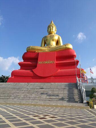 buddha statue: Buddha statue in the Temple
