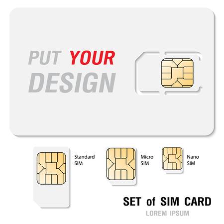 Blank Design Simcard