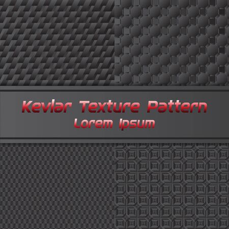 Carbon Texture Pattern. Vector Illustration