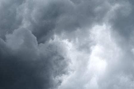 Rain Cloud before strom