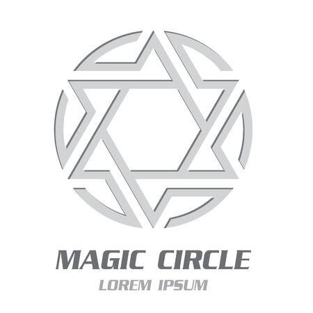 Modern Magic Symbol Emblem. Vector Illustration Banco de Imagens - 125907820