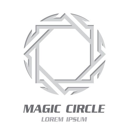 Modern Magic Symbol Emblem. Vector Illustration Banco de Imagens - 125907823