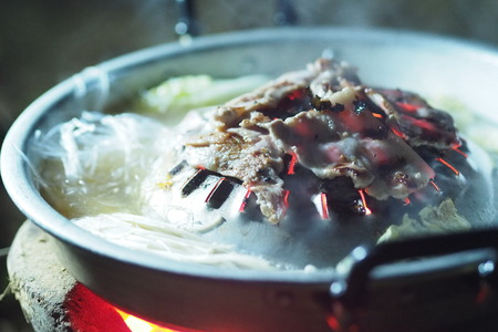 Korean BBQ on Country style