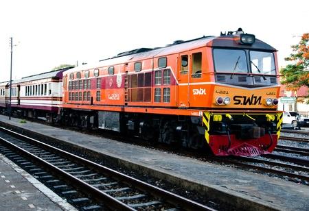 Local Obsolete Train,Thailand,Asia