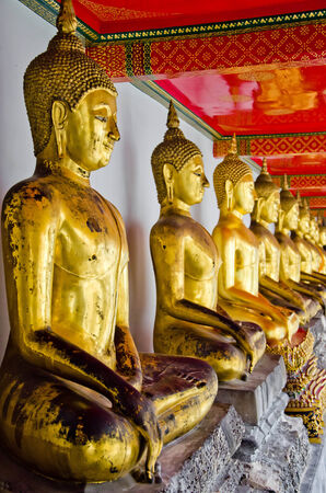 goodness: Buddha statue was created as a representative of God of Buddha in order to make people recall of goodness and peace