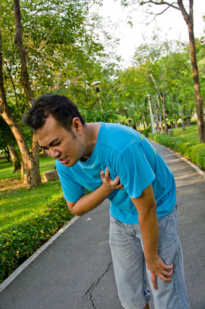 heart disease: If Coronary artery disease, congestive heart failure or heart attack occur to you,it may have similar warning sign The most common symptom of coronary artery disease is angina, or chest pain  Stock Photo