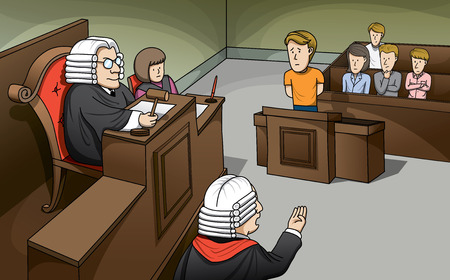 plaintiff: Trial in Court