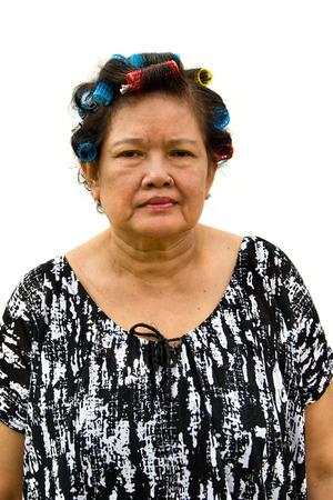 matron: when housekeeper curl her hair