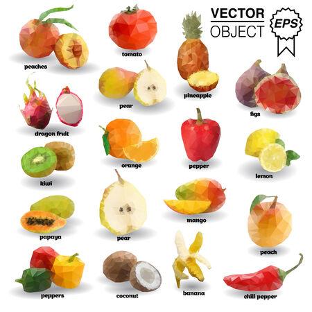 ハート 折り紙:果物 折り紙-m.123rf.com