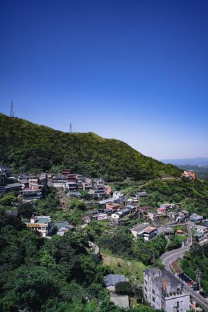 scenic spots: JiufenChiufen in Ruifang District, New Taipei City, Taiwan.