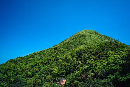 Keelung Mountain in Ruifang District, New Taipei, Taiwan.