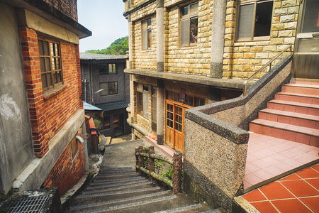 Citang Old Street - July 25, 2017: Citang Old Street is a famous scenic in Ruifang District, New Taipei City, Taiwan.