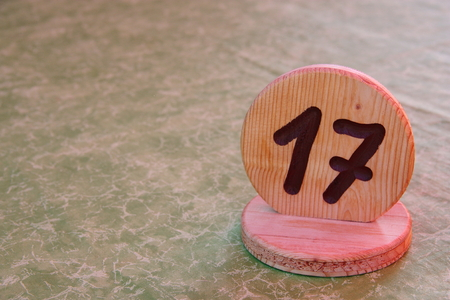 17: Table unlucky number 17