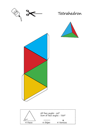 Tetrahedron Origami