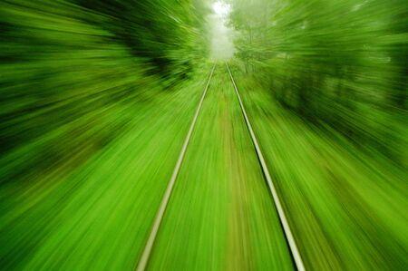 treno espresso: Vista da un treno espresso