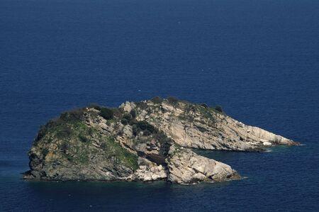 Cerca de isla de Thassos, Grecia  Foto de archivo - 7901539