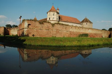 fagaras: Fagaras fortress, Romania  Stock Photo