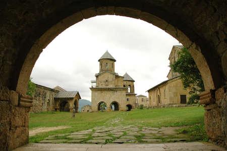 kutaisi: Vecchio monastero ortodosso di gelati vicino Kutaisi, Georgia  Archivio Fotografico