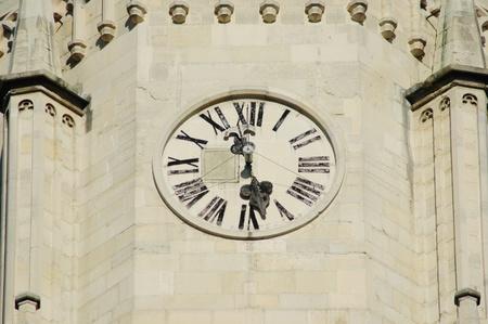 cluj: Clock tower in Cluj Napoca, Romania