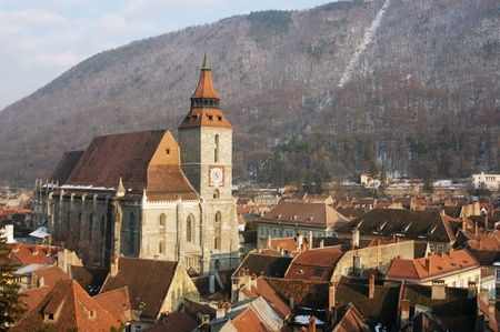 Black church cathedral, Brasov, Romania                                photo