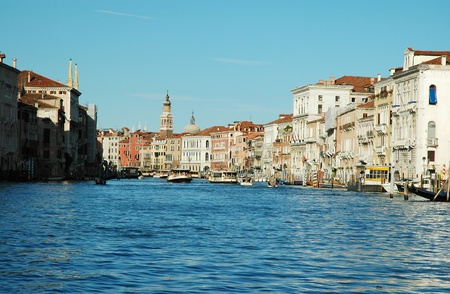 Grand Canal in Venice, Italy  photo