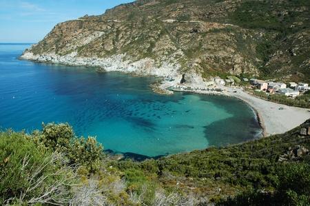 plage: Beautiful beach in Corsica