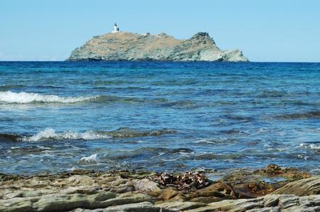 genoese:  Genoese tower in Corsica