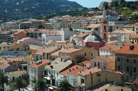 City of Calvi, Corsica, France  photo