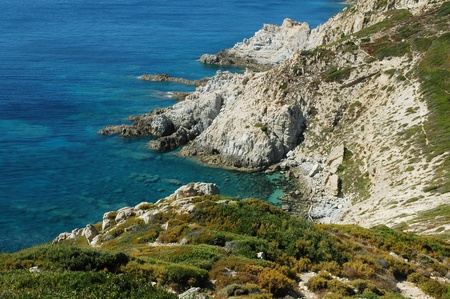 Point of the Revellata, Calvi, Corsica, France photo