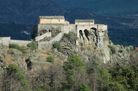 Corte Citadel, Corsica, France photo