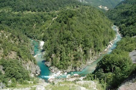 hill of tara: Tara canyon, Montenegro