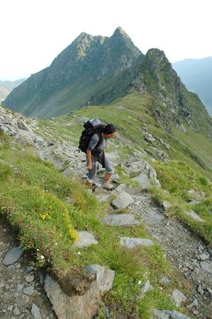 fagaras: Trekking in montagna Fagaras, Carpazi meridionali, Romania