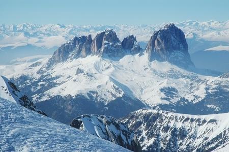 wintertime: Dolomities, Dolomiti - Italy in wintertime