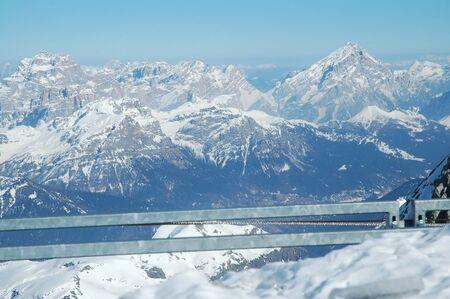 Dolomities, Dolomiti - Italy in wintertime Stock Photo - 11909715