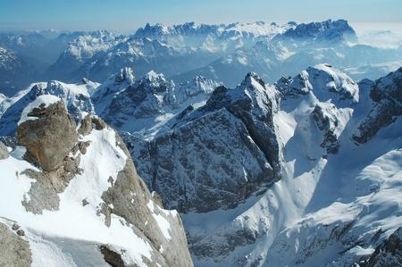 Dolomities, Dolomiti - Italy in wintertime Stock Photo - 11909718