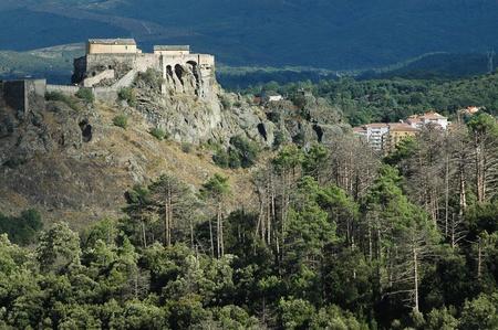 the citadel: Cittadella Corte, Corsica, Francia