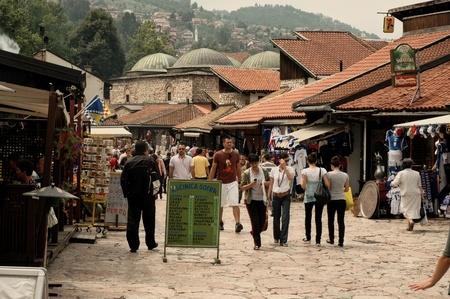 Old town Bascarsija, Sarajevo bazaar