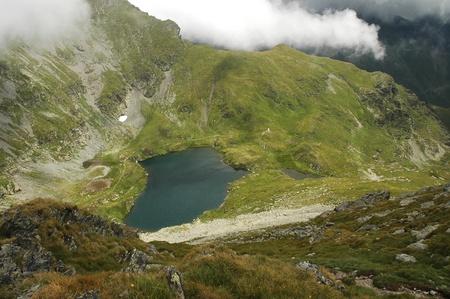 fagaras: Lago nelle montagne di Fagaras, Carpazi, Romania