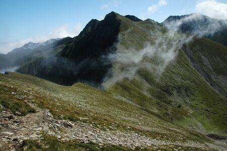 fagaras: Monti Fagaras, Carpazi meridionali, Romania Archivio Fotografico
