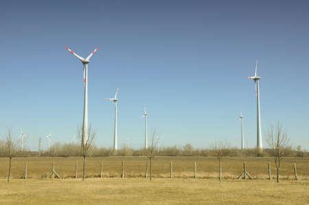 Power generating windmills Stock Photo - 12668753