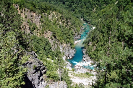 the deepest: The beautiful canyon of Tara, the second deepest canyon in the world in Montenegro