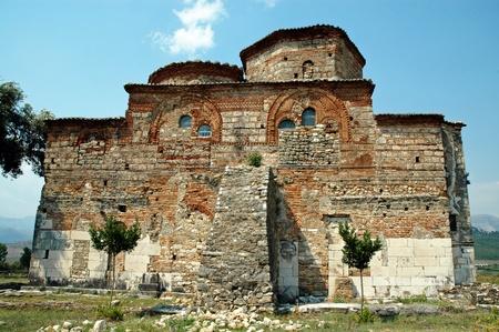 apses: The Byzantine monastery of Mesopotam, near Butrint, Albania