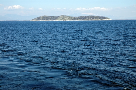 A beautiful island in the middle of the Mediterranean sea