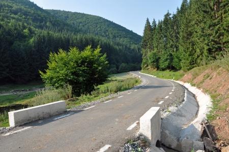 Mountain road Stock Photo - 16479110