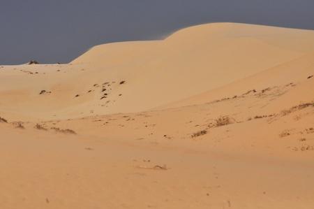 ne: Sandy desert in Mui Ne, Vietnam