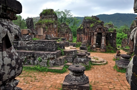 Mijn Zoon Lost Temple, Vietnam