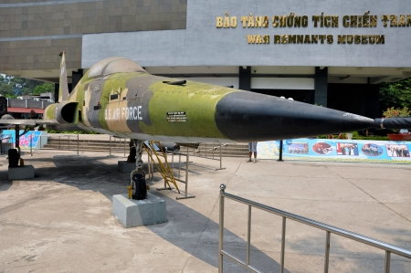 remnants: American Vietnamese War Remnants Museum, Ho Chi Minh city, Vietnam Editorial