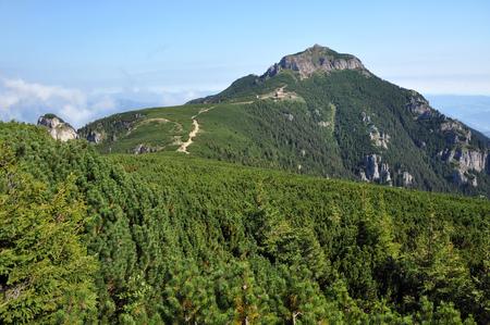 Ceahlau mountains, Romania photo