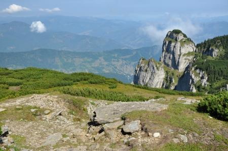 Ceahlau massif, Eastern Carpathians, Moldova, Romania  photo